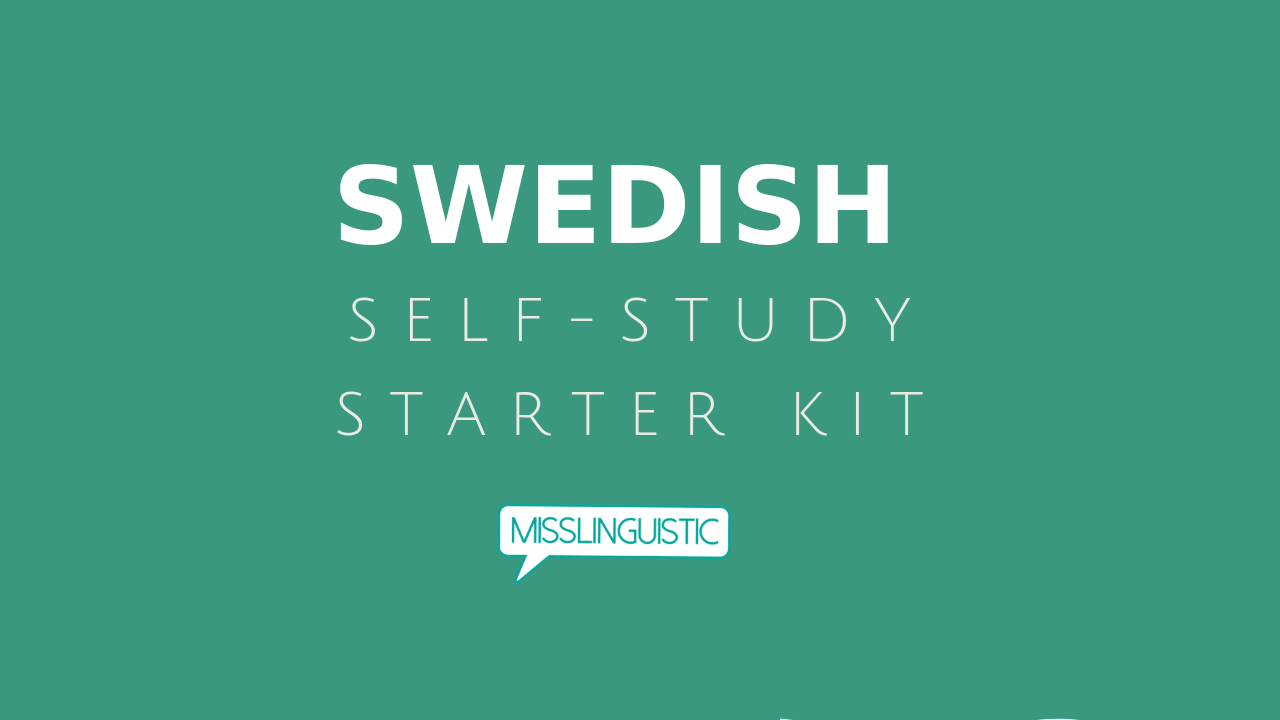 learn swedish by yourself